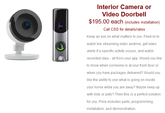 Home Automation Package Promo - CSS Alarms